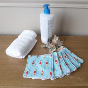 lingettes lavables bébé les p'tits coussins