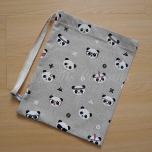 sac à doudou pandas
