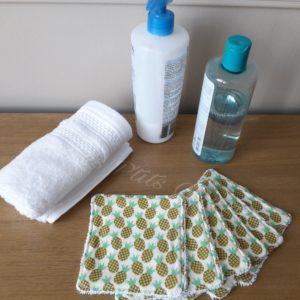 Lingettes lavables bio bébé les p'tits coussins
