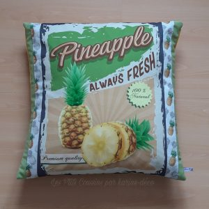 coussin ananas tropical les p'tits coussins