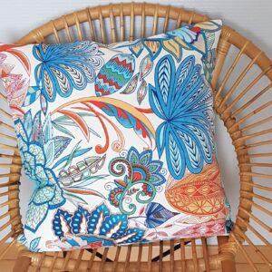 coussin exotique coloré style tropical les p'tits coussins