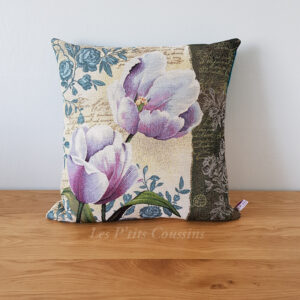 coussin style campagne chic